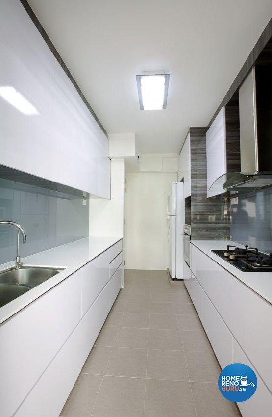Contemporary, Modern Design - Kitchen - HDB 4 Room - Design by NorthWest Interior Design Pte Ltd