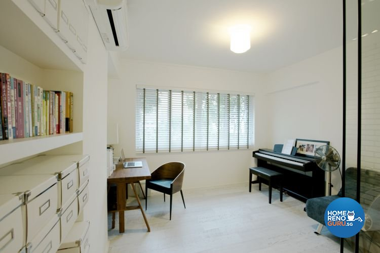 Contemporary, Country Design - Study Room - HDB 4 Room - Design by NorthWest Interior Design Pte Ltd