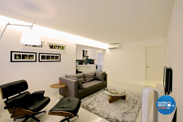 Contemporary, Country Design - Living Room - HDB 4 Room - Design by NorthWest Interior Design Pte Ltd