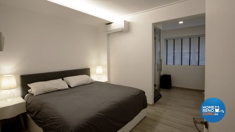 Contemporary, Country Design - Bedroom - HDB 4 Room - Design by NorthWest Interior Design Pte Ltd