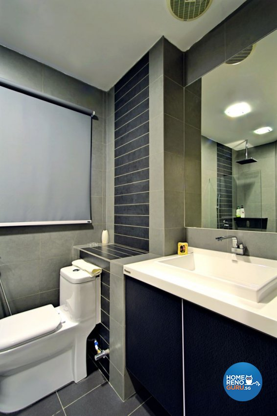 Contemporary, Modern, Scandinavian Design - Bathroom - Landed House - Design by NorthWest Interior Design Pte Ltd