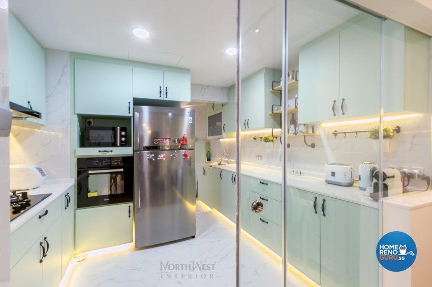 Classical, Contemporary Design - Kitchen - Condominium - Design by NorthWest Interior Design Pte Ltd