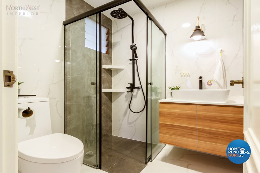 Classical, Contemporary Design - Bathroom - Condominium - Design by NorthWest Interior Design Pte Ltd