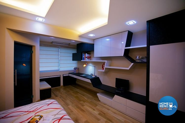 Contemporary, Modern Design - Bedroom - Condominium - Design by NorthWest Interior Design Pte Ltd