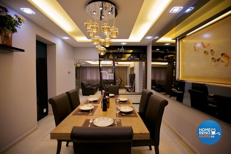 Contemporary, Modern Design - Dining Room - Condominium - Design by NorthWest Interior Design Pte Ltd