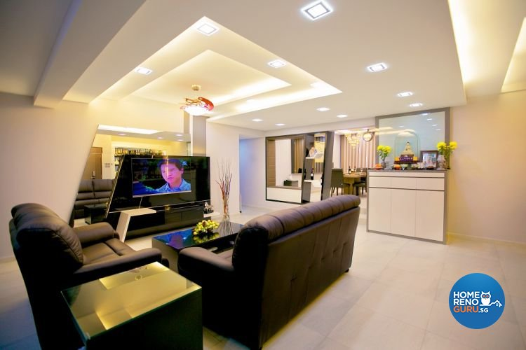 Contemporary, Modern Design - Living Room - Condominium - Design by NorthWest Interior Design Pte Ltd