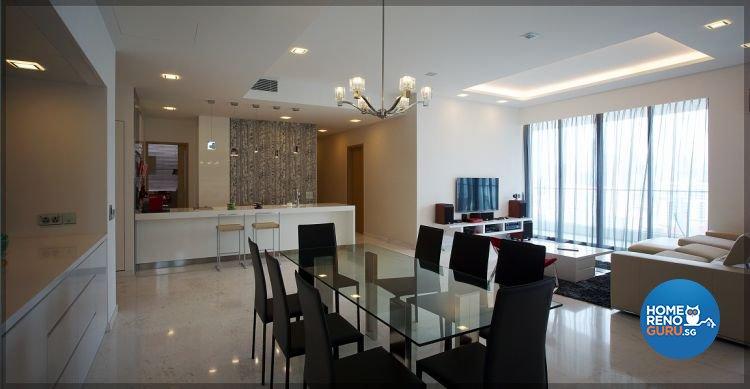 Contemporary, Modern, Scandinavian Design - Dining Room - Condominium - Design by NorthWest Interior Design Pte Ltd