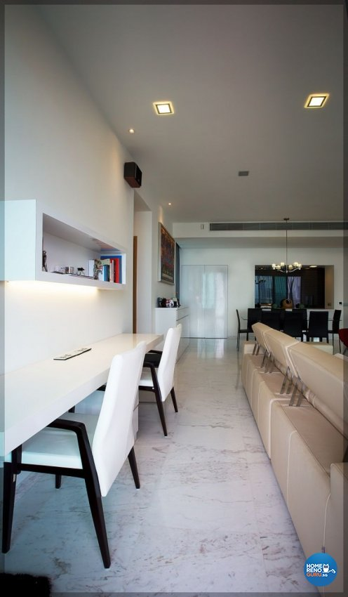 Contemporary, Modern, Scandinavian Design - Study Room - Condominium - Design by NorthWest Interior Design Pte Ltd
