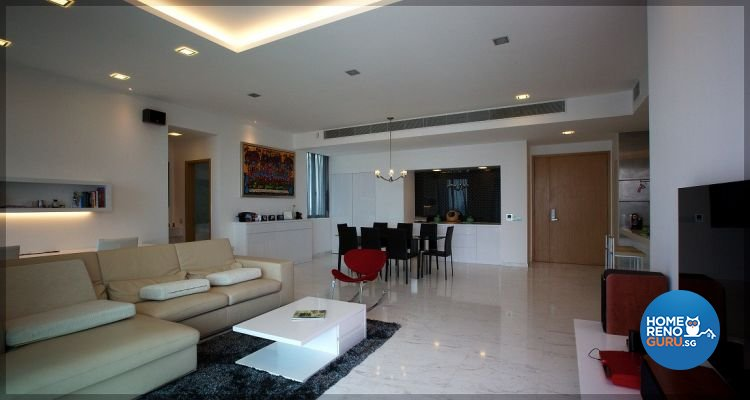 Contemporary, Modern, Scandinavian Design - Living Room - Condominium - Design by NorthWest Interior Design Pte Ltd