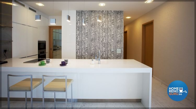 Contemporary, Modern, Scandinavian Design - Kitchen - Condominium - Design by NorthWest Interior Design Pte Ltd