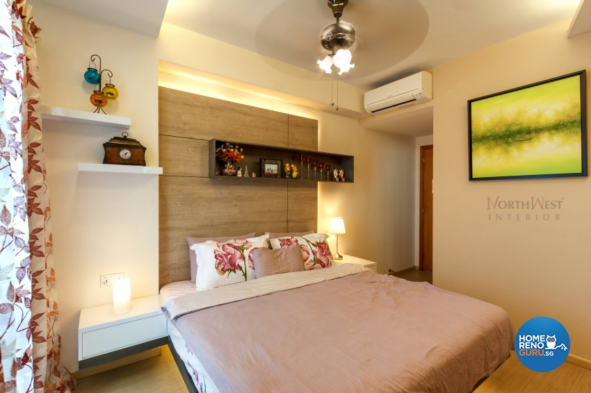 Contemporary, Rustic Design - Bedroom - Condominium - Design by NorthWest Interior Design Pte Ltd