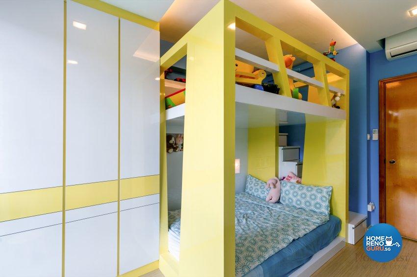 Contemporary, Rustic Design - Bedroom - Condominium - Design by NorthWest Interior Design Pte Ltd