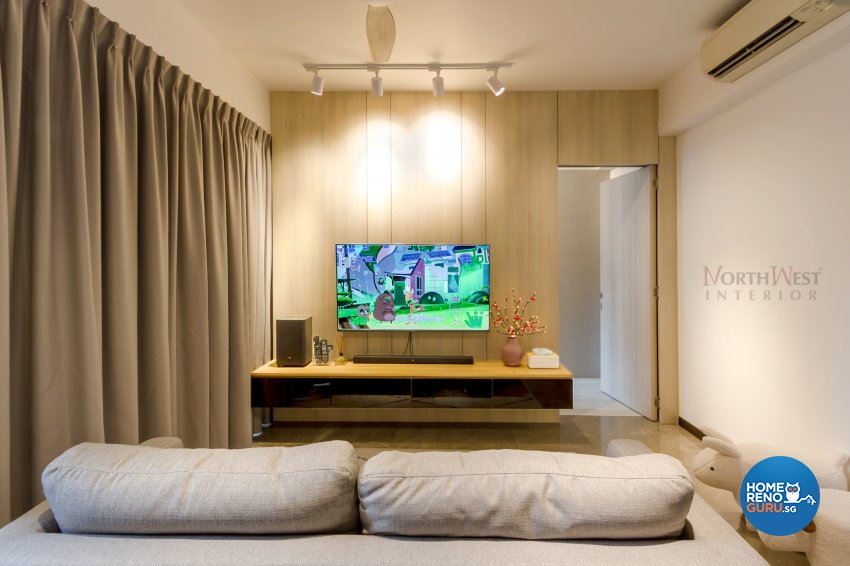 Contemporary, Minimalist Design - Living Room - Condominium - Design by NorthWest Interior Design Pte Ltd