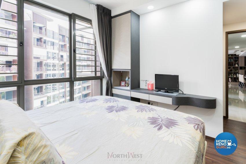 Contemporary, Minimalist Design - Bedroom - Condominium - Design by NorthWest Interior Design Pte Ltd
