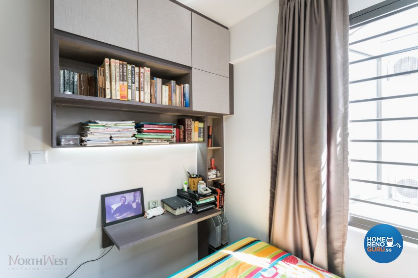 Contemporary, Minimalist Design - Bedroom - Condominium - Design by NorthWest Interior Design Pte Ltd