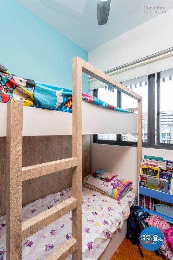 Contemporary, Scandinavian Design - Bedroom - Condominium - Design by NorthWest Interior Design Pte Ltd