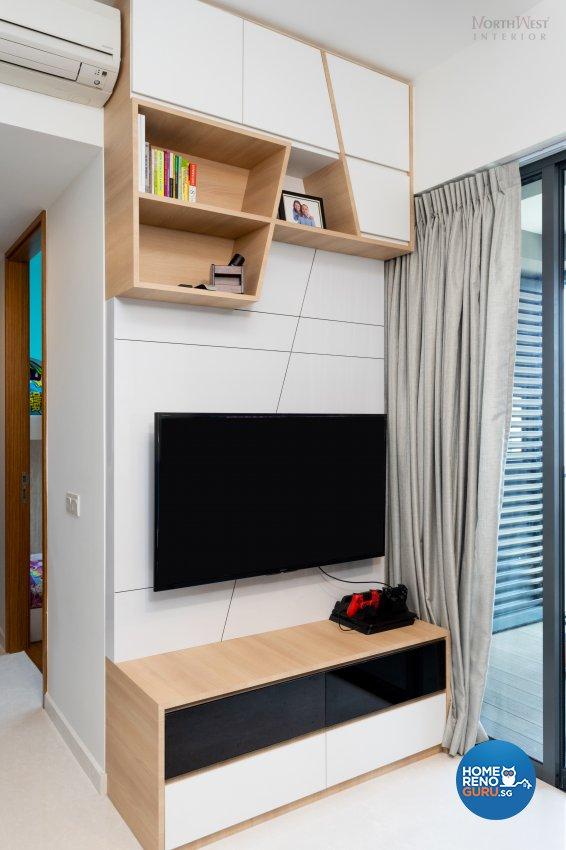Contemporary, Scandinavian Design - Living Room - Condominium - Design by NorthWest Interior Design Pte Ltd