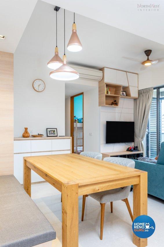 Contemporary, Scandinavian Design - Living Room - Condominium - Design by NorthWest Interior Design Pte Ltd