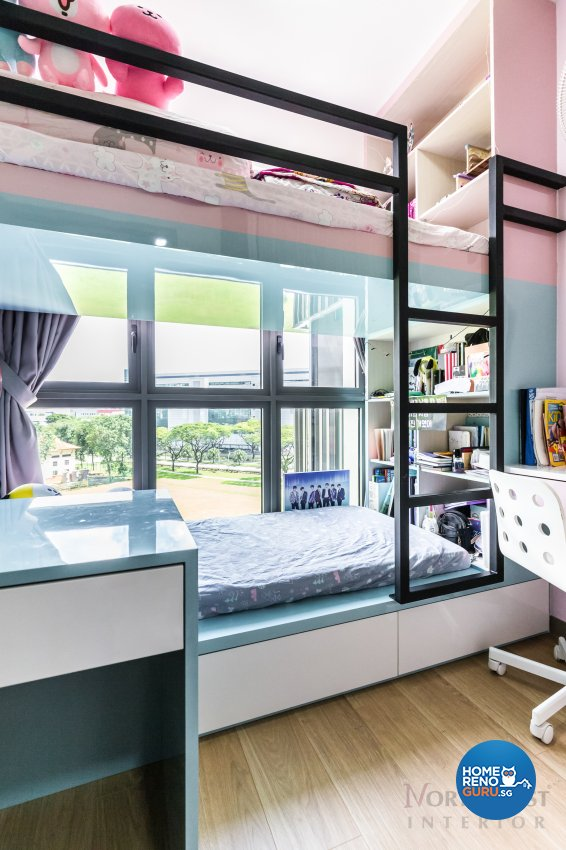 Contemporary Design - Bedroom - Condominium - Design by NorthWest Interior Design Pte Ltd