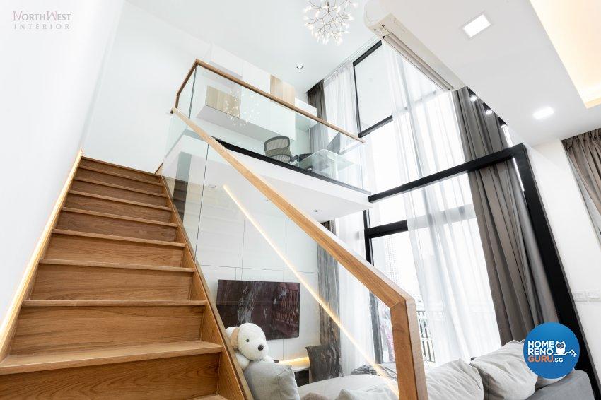 Contemporary, Modern, Scandinavian Design - Living Room - Condominium - Design by NorthWest Interior Design Pte Ltd
