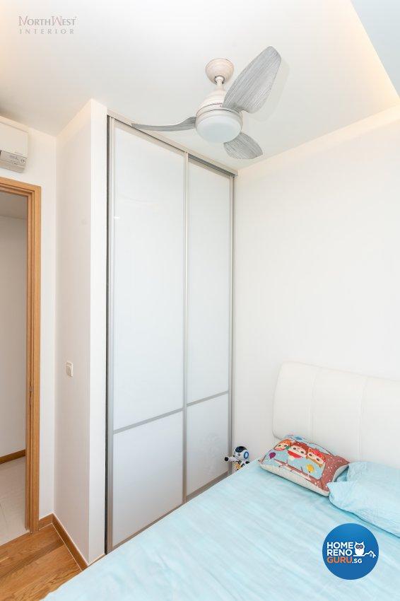 Contemporary, Modern, Scandinavian Design - Bedroom - Condominium - Design by NorthWest Interior Design Pte Ltd