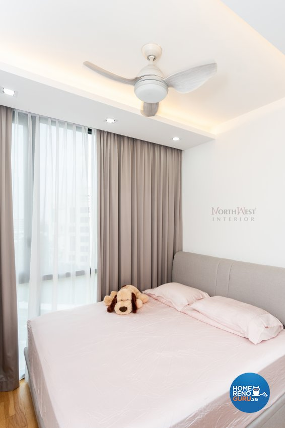 Contemporary, Modern, Scandinavian Design - Bedroom - Condominium - Design by NorthWest Interior Design Pte Ltd