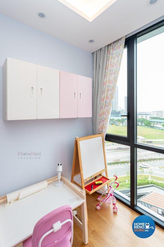 Contemporary, Modern, Scandinavian Design - Study Room - Condominium - Design by NorthWest Interior Design Pte Ltd
