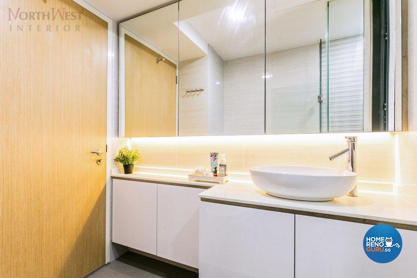 Contemporary Design - Bathroom - Condominium - Design by NorthWest Interior Design Pte Ltd
