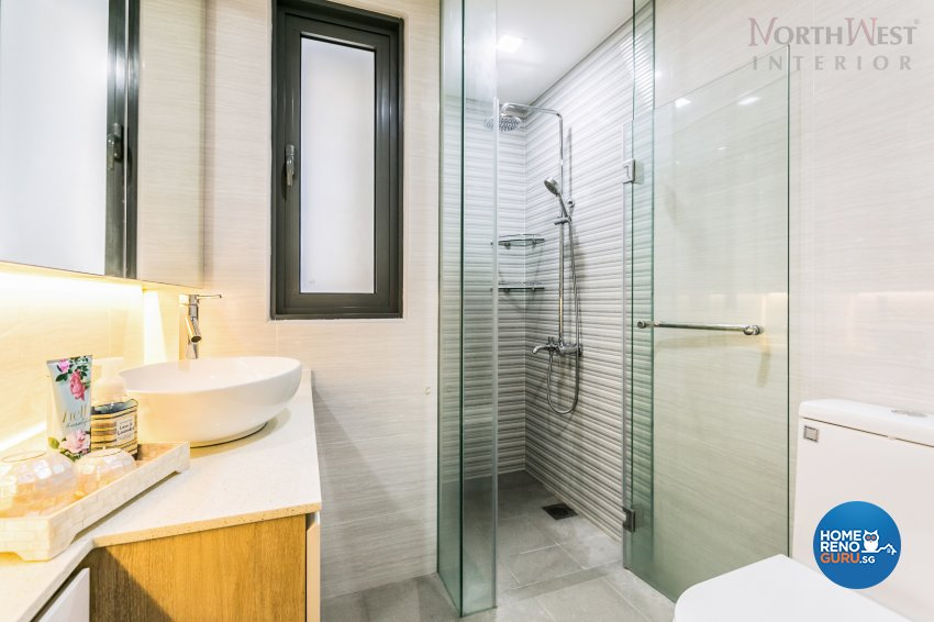 Contemporary Design - Bathroom - Condominium - Design by NorthWest Interior Design Pte Ltd