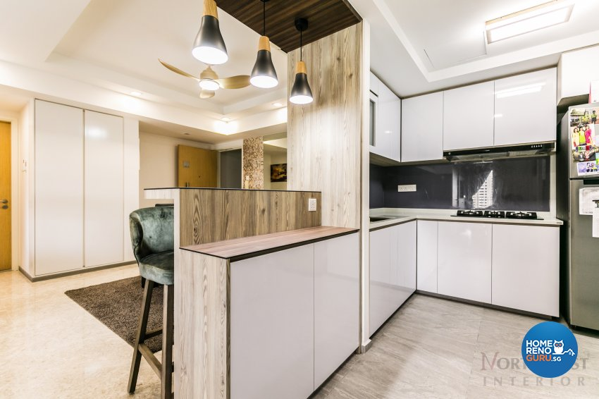 Contemporary Design - Kitchen - Condominium - Design by NorthWest Interior Design Pte Ltd