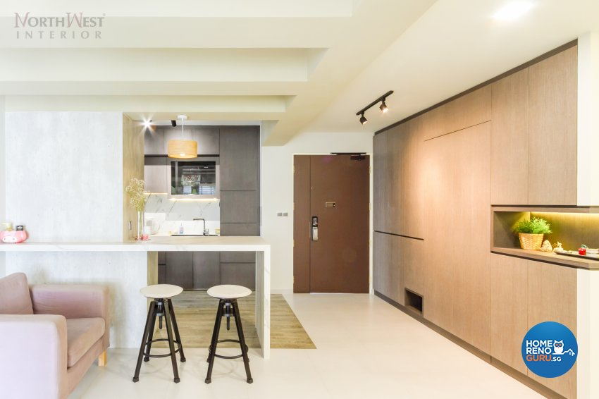 Contemporary, Minimalist Design - Dining Room - Condominium - Design by NorthWest Interior Design Pte Ltd