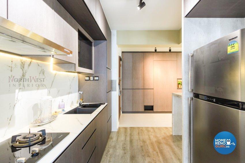 Contemporary, Minimalist Design - Kitchen - Condominium - Design by NorthWest Interior Design Pte Ltd