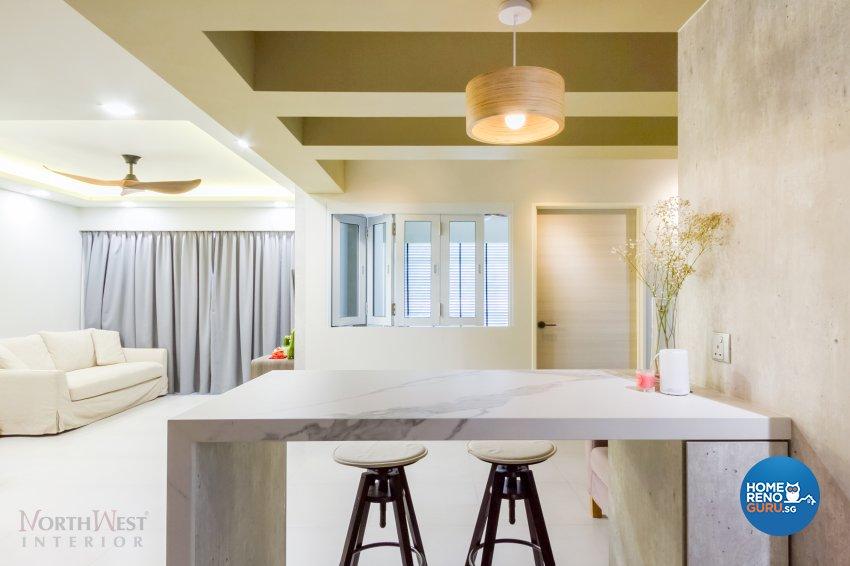 Contemporary, Minimalist Design - Dining Room - Condominium - Design by NorthWest Interior Design Pte Ltd