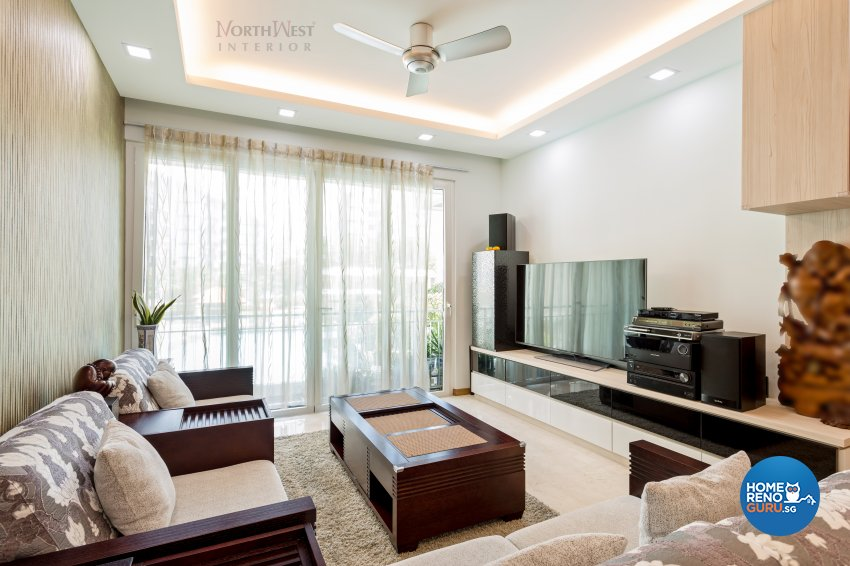 Contemporary, Oriental Design - Living Room - Condominium - Design by NorthWest Interior Design Pte Ltd