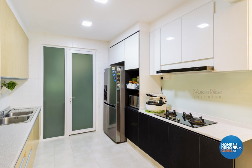 Contemporary, Oriental Design - Kitchen - Condominium - Design by NorthWest Interior Design Pte Ltd