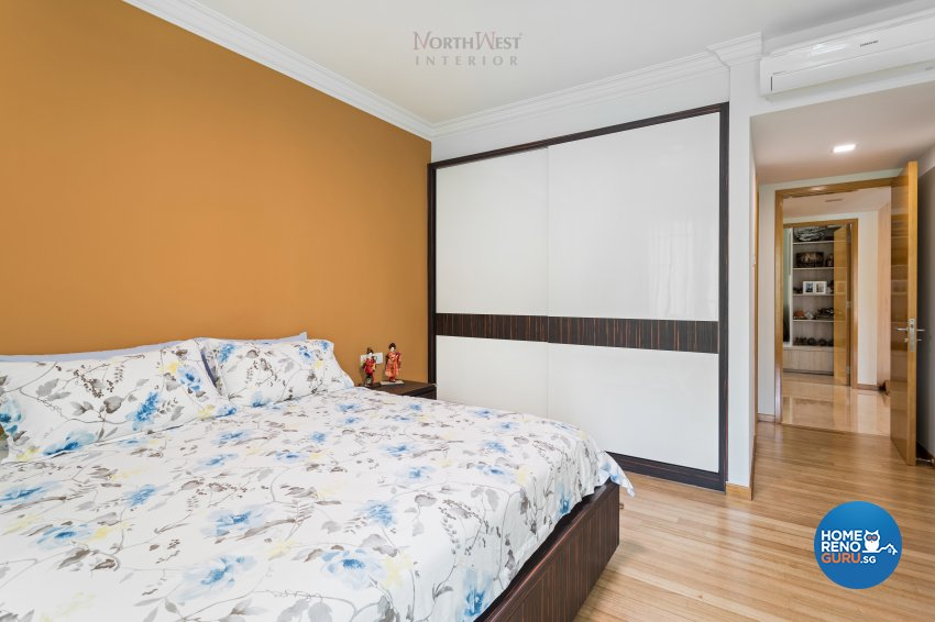 Contemporary, Oriental Design - Bedroom - Condominium - Design by NorthWest Interior Design Pte Ltd