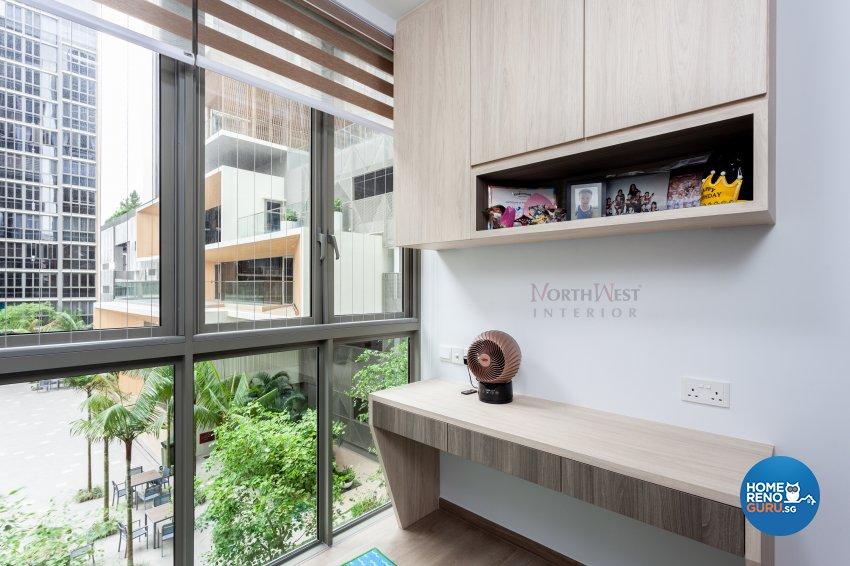 Contemporary Design - Study Room - Condominium - Design by NorthWest Interior Design Pte Ltd