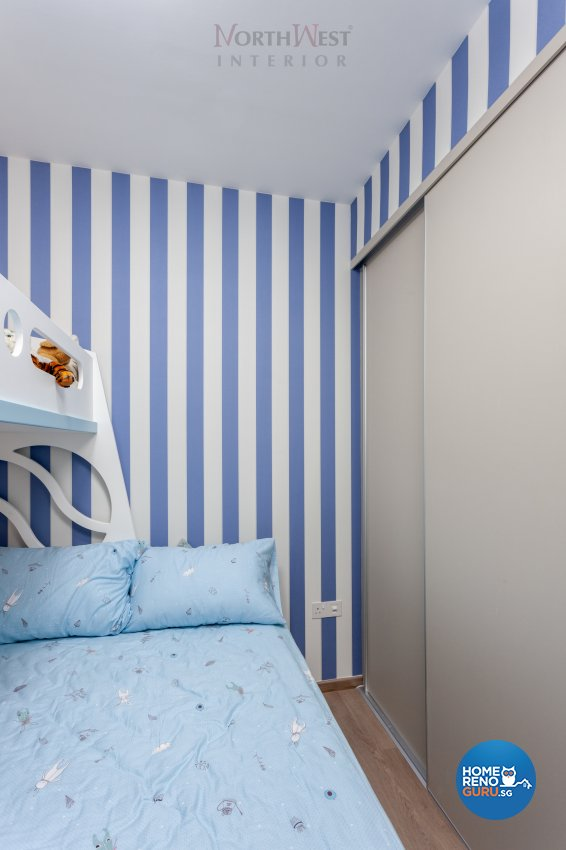 Contemporary Design - Bedroom - Condominium - Design by NorthWest Interior Design Pte Ltd