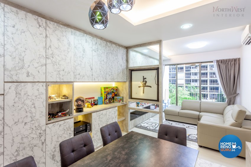 Contemporary Design - Dining Room - Condominium - Design by NorthWest Interior Design Pte Ltd