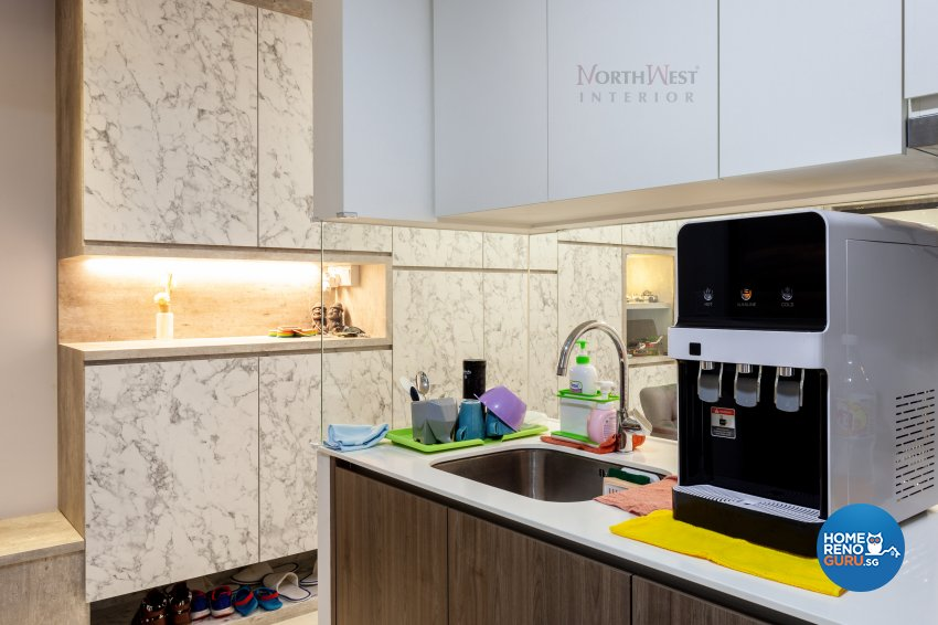 Contemporary Design - Kitchen - Condominium - Design by NorthWest Interior Design Pte Ltd