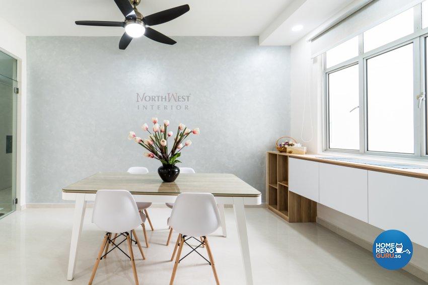 Contemporary, Minimalist, Modern Design - Dining Room - Condominium - Design by NorthWest Interior Design Pte Ltd