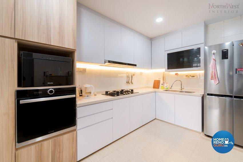 Contemporary, Minimalist, Modern Design - Kitchen - Condominium - Design by NorthWest Interior Design Pte Ltd