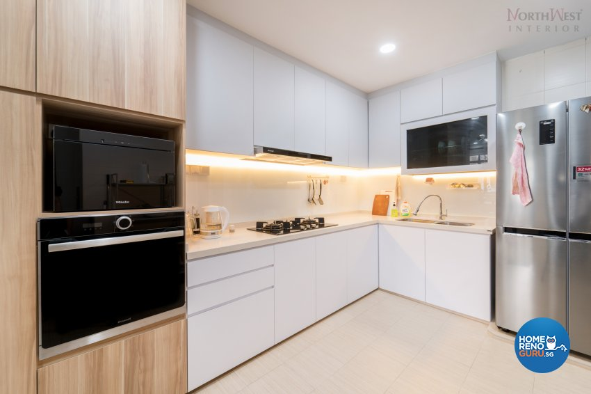 Contemporary, Minimalist, Modern Design - Kitchen - Condominium - Design by NorthWest Interior Design Pte Ltd