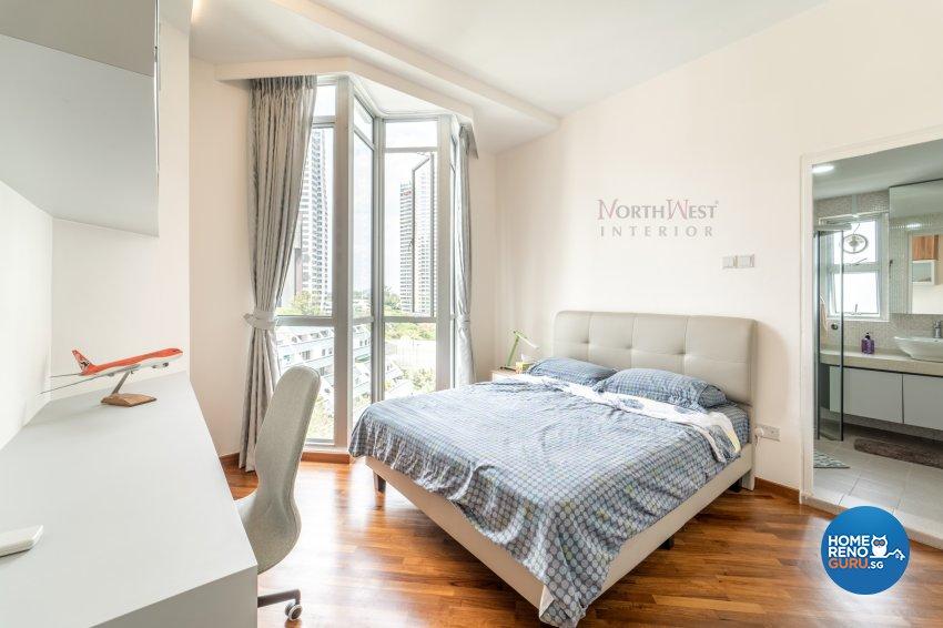 Contemporary, Minimalist, Modern Design - Bedroom - Condominium - Design by NorthWest Interior Design Pte Ltd
