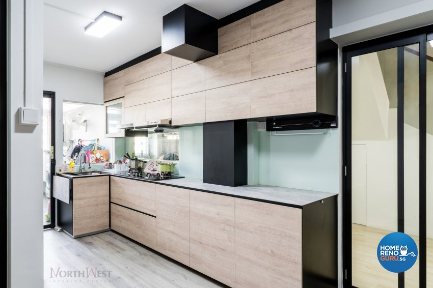 Contemporary, Mediterranean, Modern Design - Kitchen - Others - Design by NorthWest Interior Design Pte Ltd