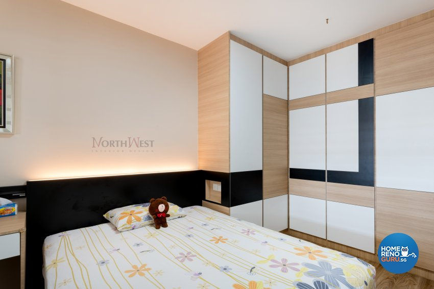 Contemporary, Mediterranean, Modern Design - Bedroom - Others - Design by NorthWest Interior Design Pte Ltd