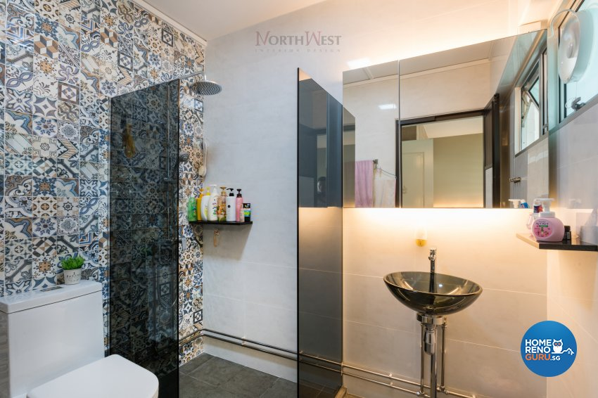Contemporary, Mediterranean, Modern Design - Bathroom - Others - Design by NorthWest Interior Design Pte Ltd