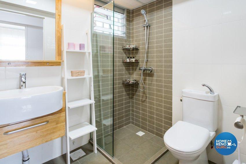 Contemporary, Minimalist Design - Bathroom - HDB 4 Room - Design by NorthWest Interior Design Pte Ltd