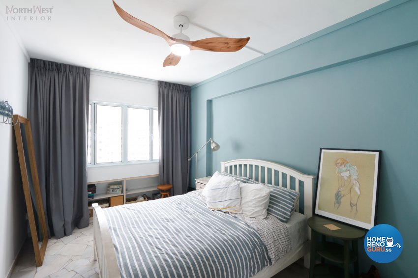 Contemporary, Scandinavian Design - Bedroom - HDB 4 Room - Design by NorthWest Interior Design Pte Ltd