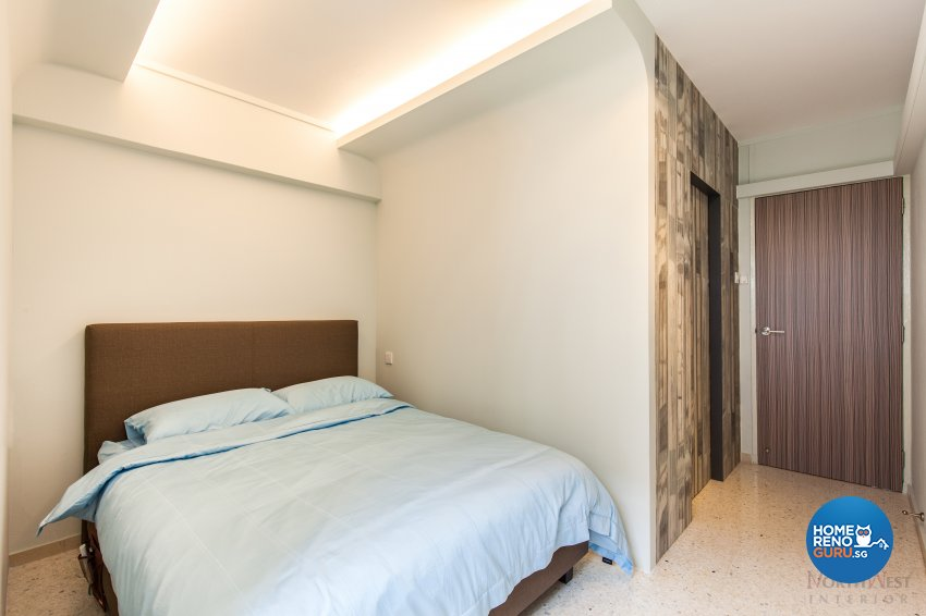 Industrial, Rustic Design - Bedroom - HDB 4 Room - Design by NorthWest Interior Design Pte Ltd